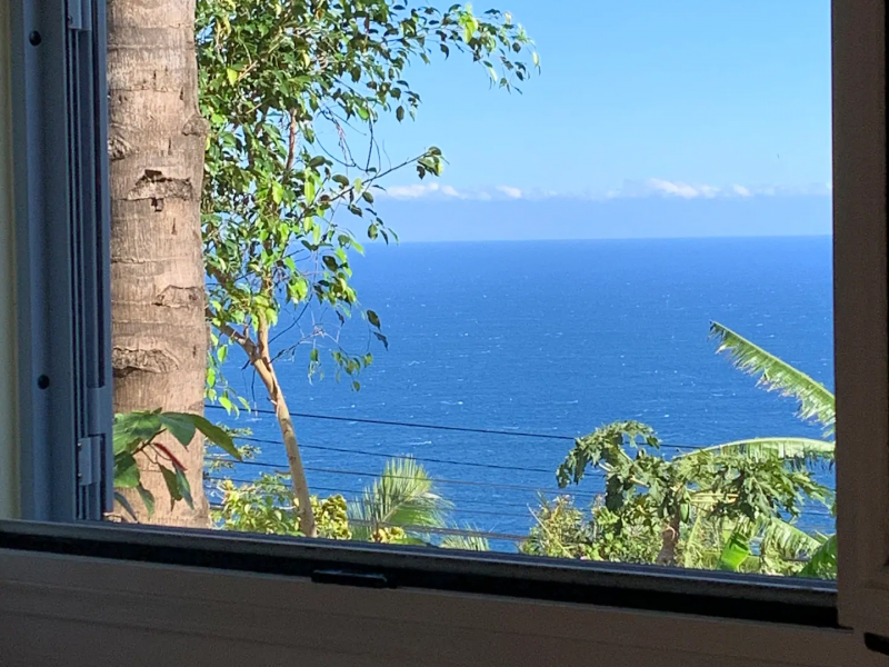 Magnifique vue sur l'océan.